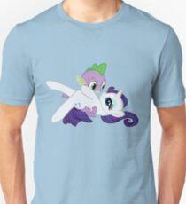 Spike and Rarity Unisex T-Shirt