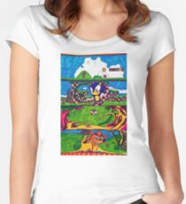 The Classic Game Collection! Women's Fitted Scoop T-Shirt
