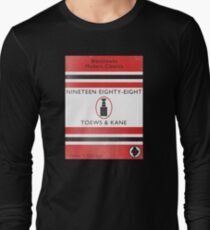 Nineteen Eighty Eight Book Cover Long Sleeve T-Shirt