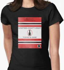 Nineteen Eighty Eight Book Cover Womens Fitted T-Shirt