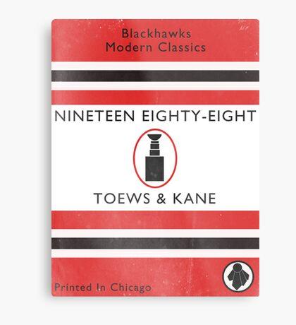 Nineteen Eighty Eight Book Cover Metal Print