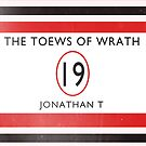 Toews Of Wrath Book Cover by mightymiked