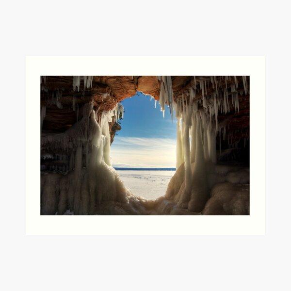 Keyhole, Apostle Islands,WI Art Print