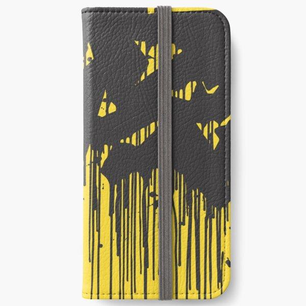 Yellow superdrip iPhone Wallet