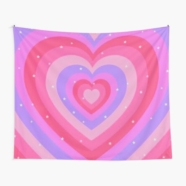 y2k pink aesthetic Tapestry