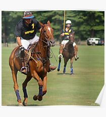 Polo in Action Poster