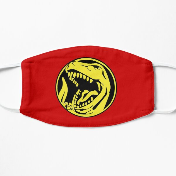 Mighty morphin Power Rangers Red Ranger Power coin Flat Mask