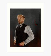 Professor James Moriarty Art Print
