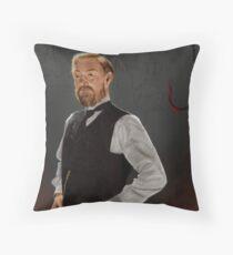 Professor James Moriarty Throw Pillow
