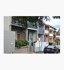 Glebe Streetscape Photographic Print