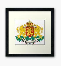 Bulgaria Coat of Arms  Framed Print