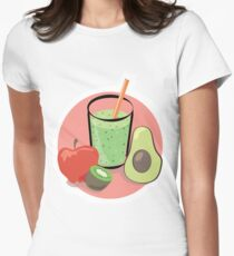 Smoothie Womens Fitted T-Shirt