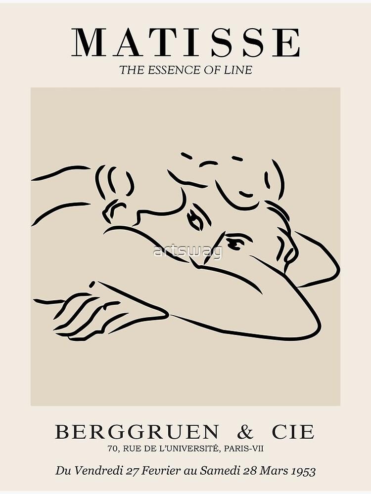 Henri Matisse - Line Drawing of Woman - Essense of Line by artswag