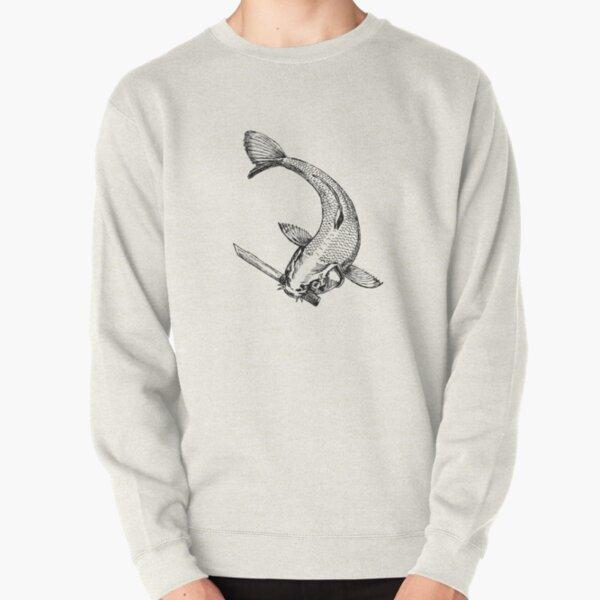 Knife Koi Pullover Sweatshirt