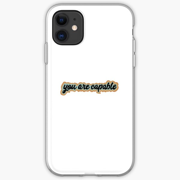 You Are Capable iPhone Soft Case