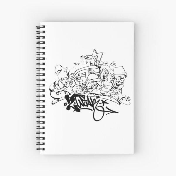 Hip Hop Get Down Spiral Notebook