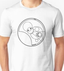 """Allons-y!"" Translated into Gallifreyan T-Shirt"