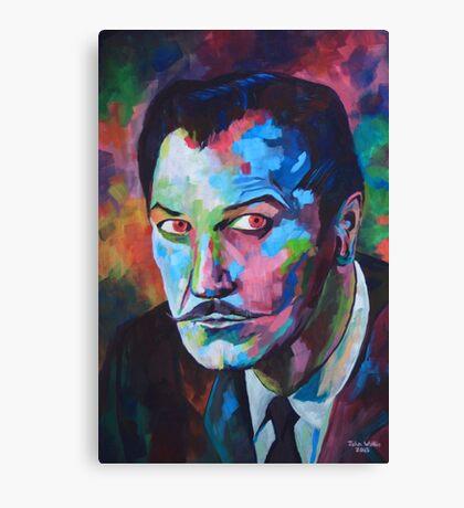 Vincent Price Canvas Print