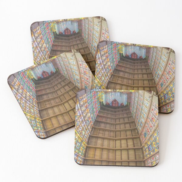 Cathedral of Christ the King Johannesburg, South Africa Coasters (Set of 4)