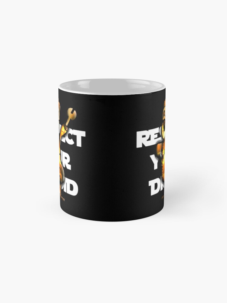 Alternate view of Respect Your Droid Mug