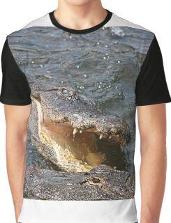 Alligator Action Graphic T-Shirt