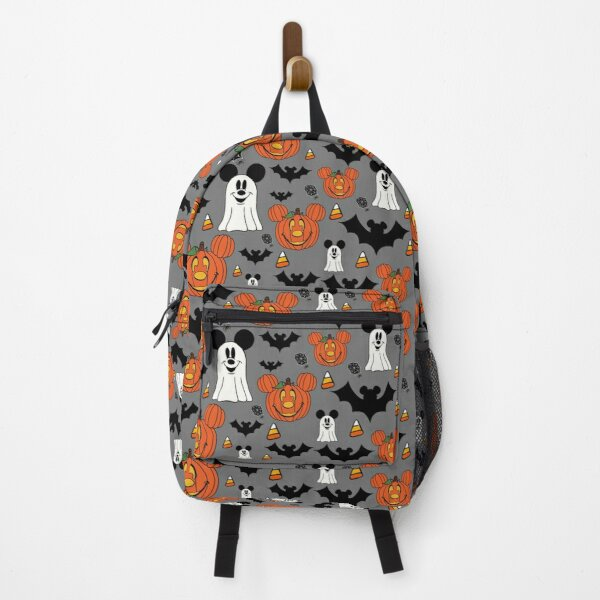 Halloween Mouse Gray Backpack