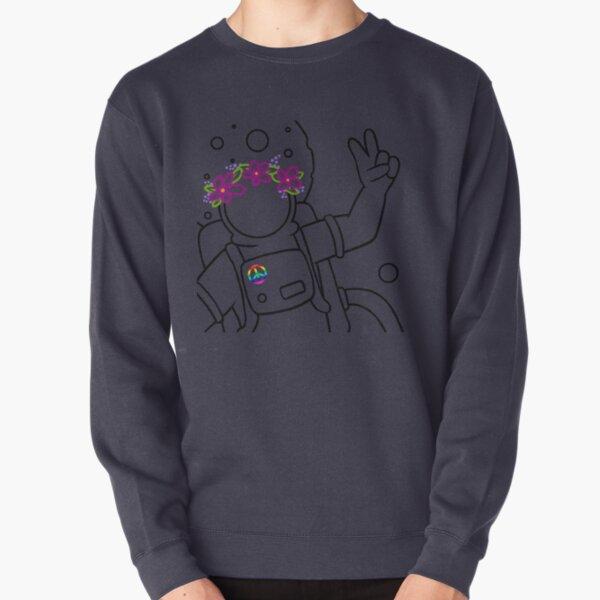 Come in Peace - Black Pullover Sweatshirt