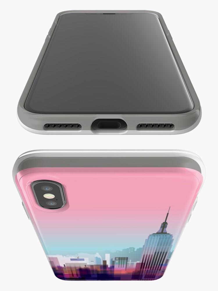 Alternative Ansicht von New York, NYC Stadt! iPhone-Hülle & Cover