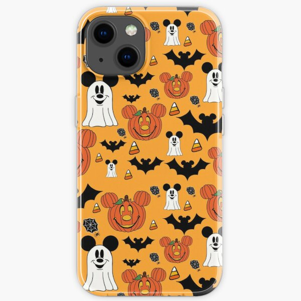 Halloween Mouse Orange iPhone Soft Case