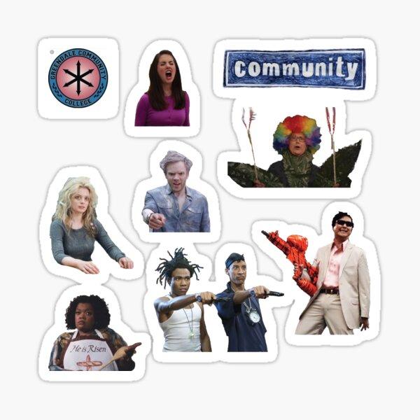 The Community sticker pack Sticker