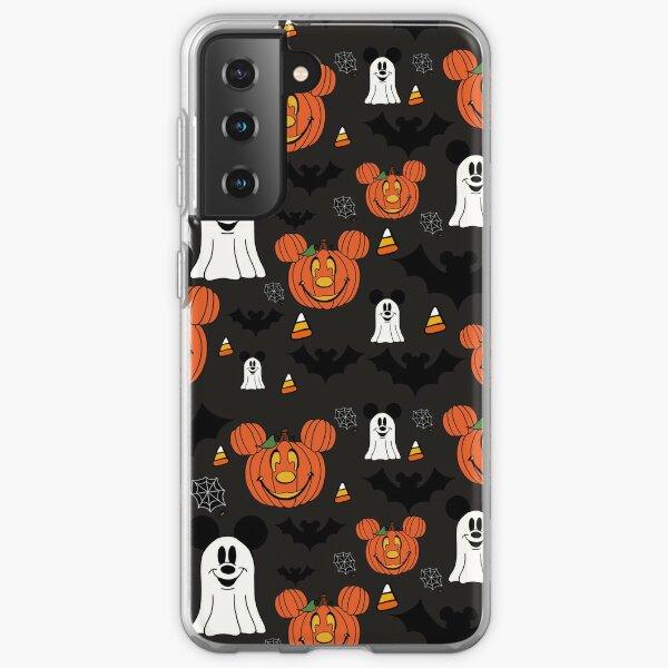 Halloween Mouse Black Samsung Galaxy Soft Case