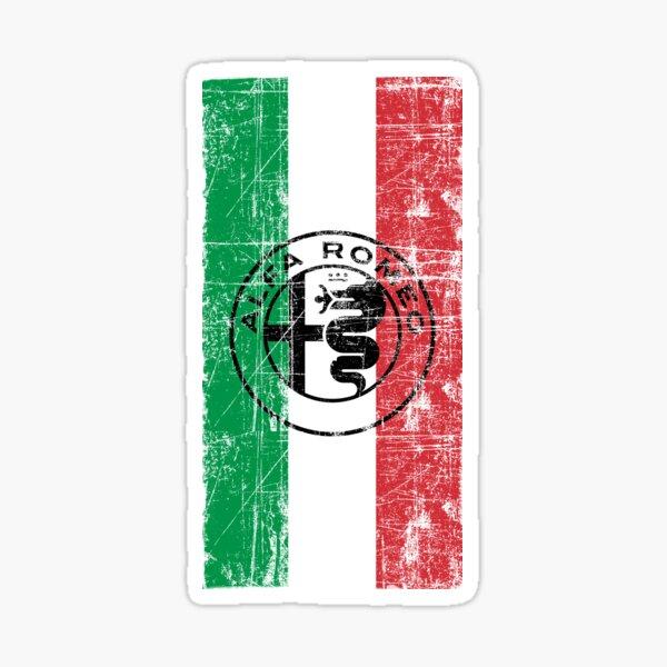 Alfa Romero Italia Worn Sticker