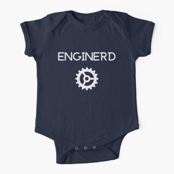 Enginerd Short Sleeve Baby One-Piece