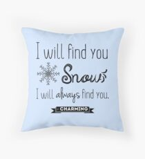 Once Upon A Time quote Throw Pillow