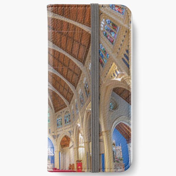 St. Mary of the Angels, Wellington, New Zealand iPhone Wallet