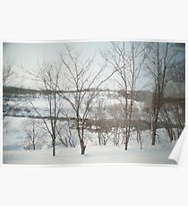 hokkaido winter Poster