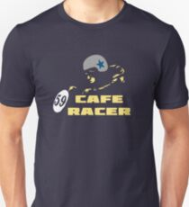 cafe racer motorbike vintage rocker bike motorcycle T-Shirt