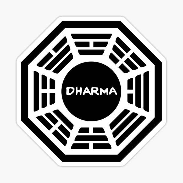 The Dharma Initiative (Lost) Sticker
