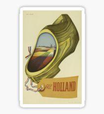 Vintage poster - Holland Sticker