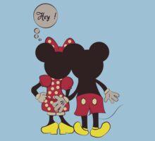 Naughty Mickey & Minnie Mouse T Shirt | Women's T-Shirt