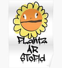 PLantz AR SToPiD, Art Inspired by Plants Versus Zombies: Garden Warfare Poster