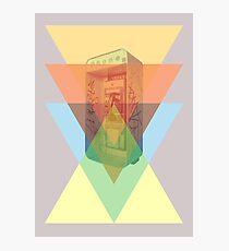 triangles phone Photographic Print