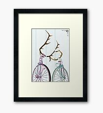 Bicycle Love Framed Print