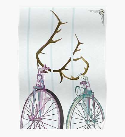 Bicycle Love Poster