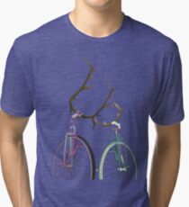 Bicycle Love Tri-blend T-Shirt