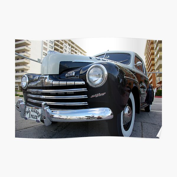 Ford Super Deluxe Poster