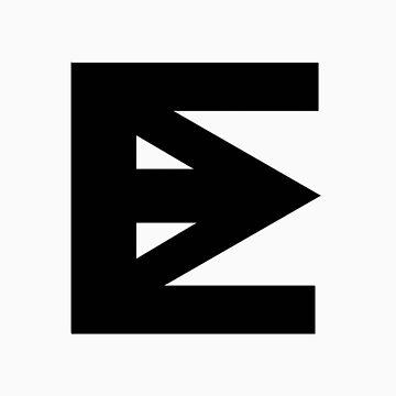 Ten Mouth Electon Logo (Black) by 10mouthelectron