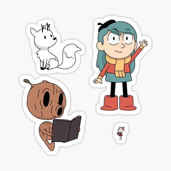 Hilda Pack Sticker