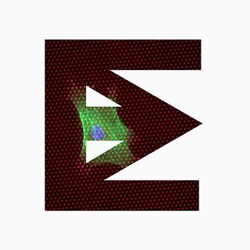 Ten Mouth Electron Logo (Dots) by 10mouthelectron