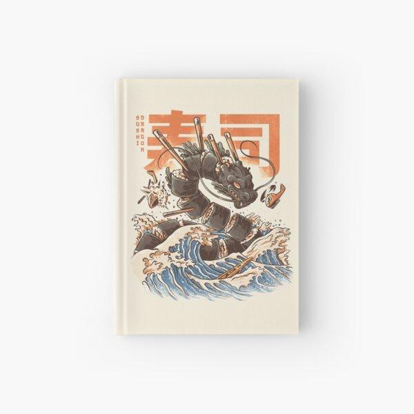 Great Sushi Dragon  Hardcover Journal